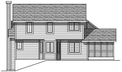 Rear Elevations Plan:7-140