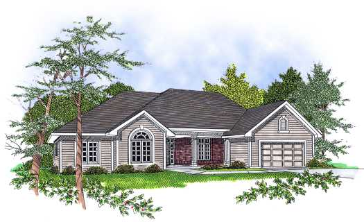 Traditional Style House Plans Plan: 7-142