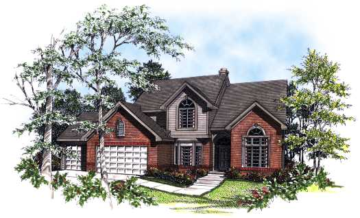 Traditional Style House Plans Plan: 7-143