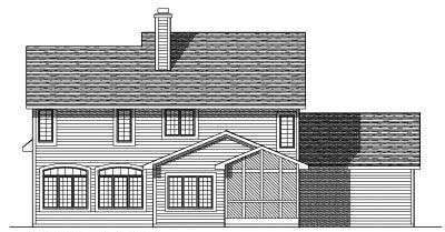 Rear Elevations Plan:7-143