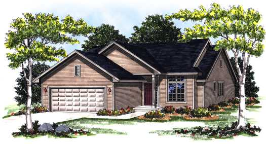 Traditional Style Floor Plans Plan: 7-144