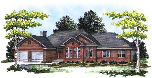 Traditional Style House Plans Plan: 7-145