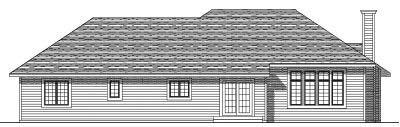 Rear Elevation Plan: 7-145