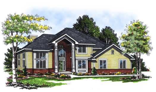 Traditional Style Floor Plans Plan: 7-146
