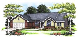 Ranch Style House Plans Plan: 7-148