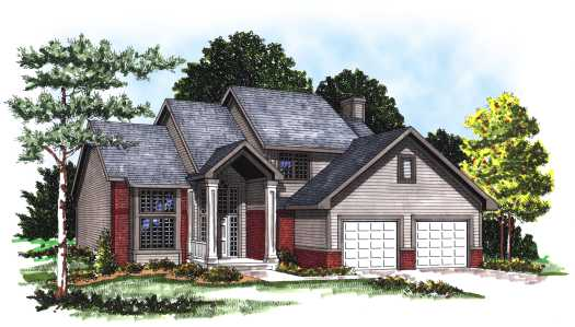 Traditional Style Floor Plans Plan: 7-149