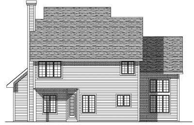 Rear Elevation Plan: 7-149