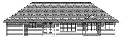 Rear Elevation Plan: 7-150