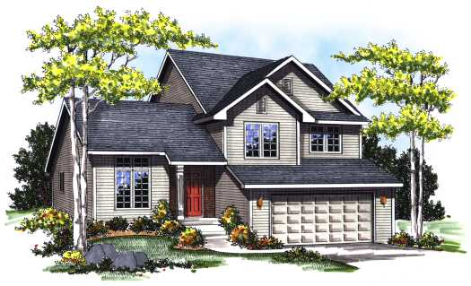 Traditional Style Floor Plans Plan: 7-157