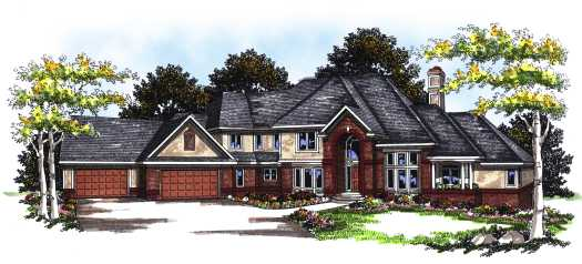 Traditional Style Floor Plans Plan: 7-163