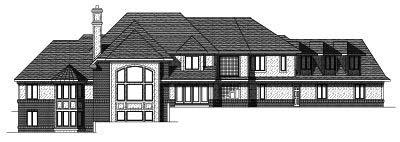 Rear Elevation Plan: 7-163