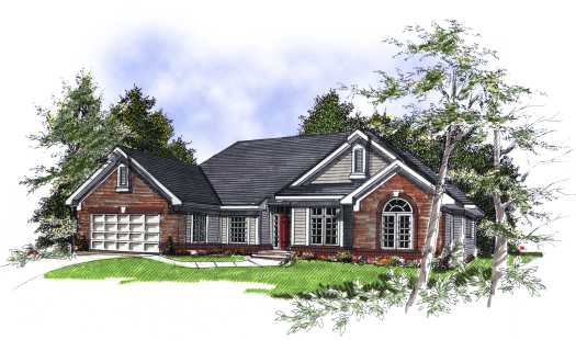Traditional Style Floor Plans Plan: 7-166