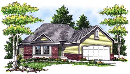 Traditional Style House Plans Plan: 7-167
