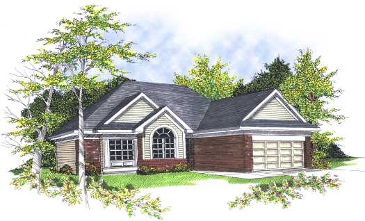 Traditional Style Floor Plans Plan: 7-168