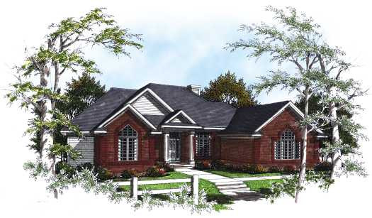 Traditional Style Floor Plans Plan: 7-170