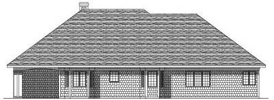 Rear Elevation Plan: 7-171