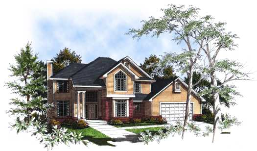 Traditional Style House Plans Plan: 7-174