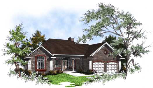 Southern Style House Plans Plan: 7-175
