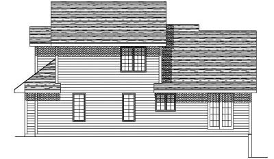 Rear Elevation Plan: 7-178