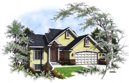 Traditional Style House Plans Plan: 7-179