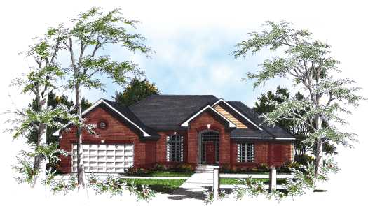 Traditional Style House Plans Plan: 7-180