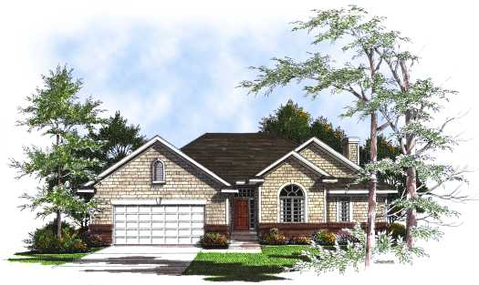 Ranch Style Floor Plans Plan: 7-181