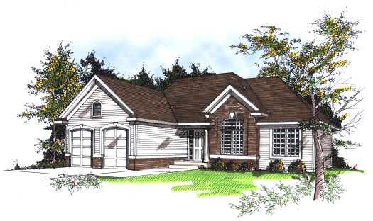 Traditional Style Floor Plans Plan: 7-183