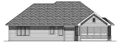Rear Elevations Plan:7-183