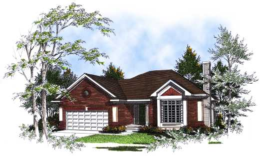 Traditional Style Floor Plans Plan: 7-187