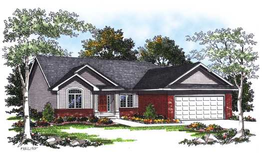 Traditional Style House Plans Plan: 7-189