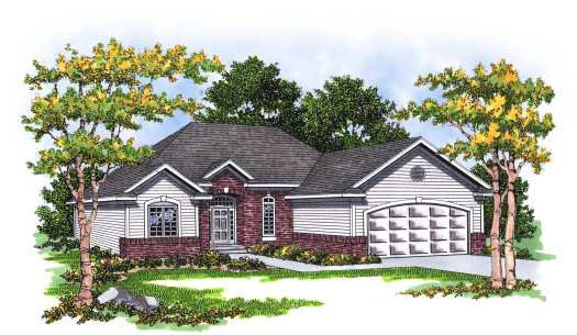 Traditional Style Floor Plans Plan: 7-190