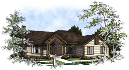 Traditional Style Floor Plans Plan: 7-192