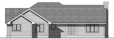 Rear Elevations Plan:7-192