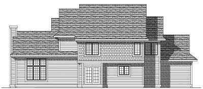 Rear Elevation Plan: 7-193