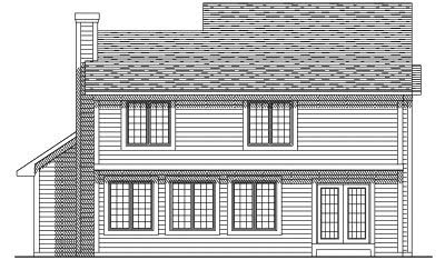 Rear Elevations Plan:7-194