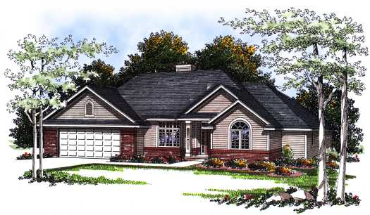 Traditional Style House Plans Plan: 7-196