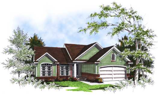 Traditional Style Floor Plans Plan: 7-198