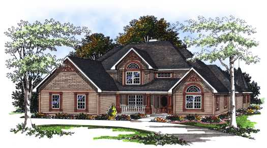 Traditional Style House Plans Plan: 7-201