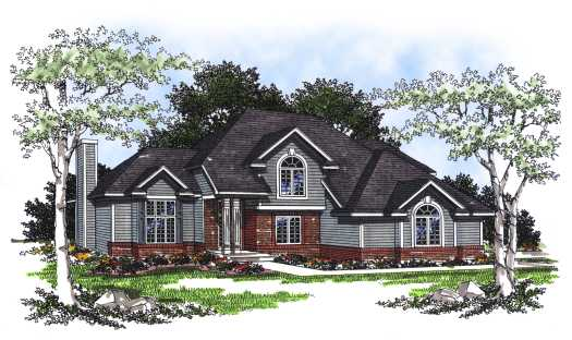 Traditional Style Floor Plans Plan: 7-202