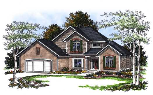Traditional Style House Plans Plan: 7-203