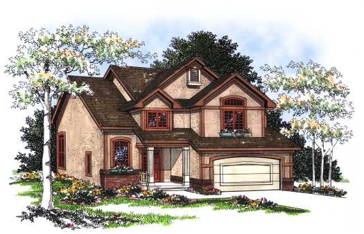 Traditional Style House Plans Plan: 7-206