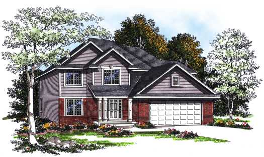 Traditional Style House Plans Plan: 7-207