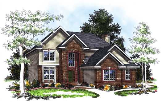 Traditional Style House Plans 7-208