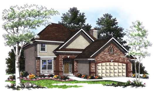 Traditional Style Floor Plans Plan: 7-209