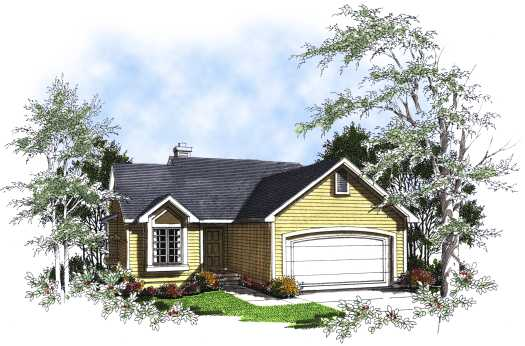 Traditional Style Floor Plans Plan: 7-211