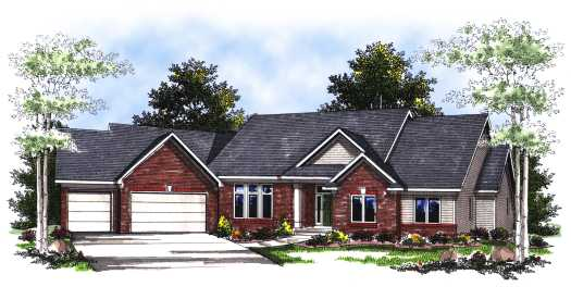 Traditional Style House Plans Plan: 7-215