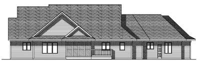 Rear Elevations Plan:7-215