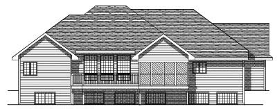 Rear Elevation Plan: 7-218