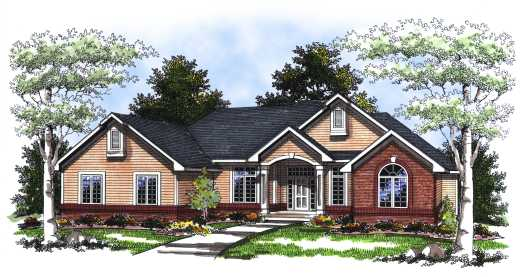 Traditional Style Floor Plans Plan: 7-219