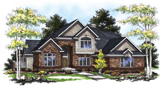Traditional Style Floor Plans Plan: 7-220